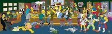 The SIMPSONS Moe's Bar Happy Hour Original Animation Art Limited Sericel Cel