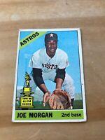 1966 TOPPS #195 JOE MORGAN HOF HOU ASTROS— ICONIC CARD💥*** (wph)