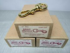 Baron 225B-5/8'' Snap Hooks Lot of 3