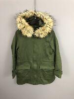JAEGER PARKA Coat - UK12 - Green - Great Condition - Women's