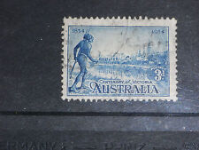 AUST 1932  3D BLUE VICTORIAN CENTENARY  ISSUE VERY FINE F/U
