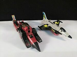 Transformers Lot of 2 Skydive and Thrust Vintage Autobots Decepticons Figures