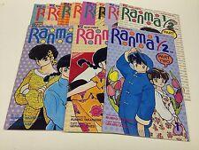 RANMA 1/2 PART2 #1-11 (VIZ COMICS/TAKAHASHI/JONES/101625) COMPLETE SET LOT OF 11