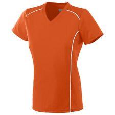 Augusta Sportswear Girls Winning Streak Jersey M Orange/White