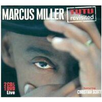 MARCUS MILLER - TUTU REVISITED-LIVE 2 CD + DVD NEW+