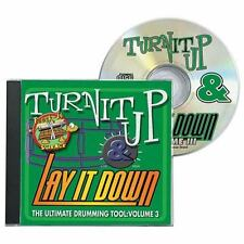Turn It up and Lay It Down : The Ultimate Drumming Tool (2009, CD)