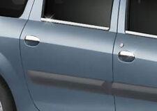 Poignée de porte Caches chromés inox DACIA LOGAN RENAULT CLIO I MEGANE SCENIC