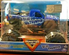 BLUE THUNDER Spinmaster 1/24 BIG ONE MONSTER JAM True Metal cool!