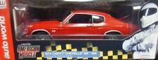 1:18 AUTOWORLD / ERTL 1970 Chevy Chevelle Ss 396 Rosso