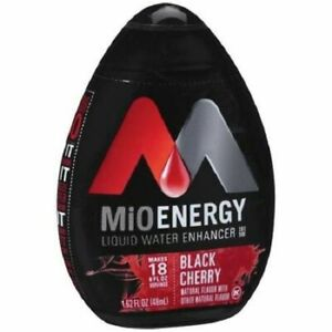MiO Energy Black Cherry Liquid Water Enhancer