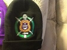 Omega Psi Phi Shield EMBROIDERED BEANIE/SCULL CAP