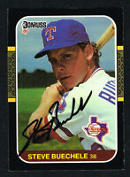 Steve Buechele #180 signed autograph auto 1987 Donruss Baseball Trading Card