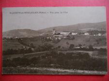 ST-JOSEPH-en-BEAUJOLAIS  :  Vue prise de l'Est.
