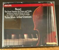 Mozart:The Great Sonatas for Piano and Violin Grumiaux & Klien  Disc 3 Only