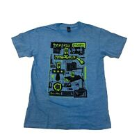 Rick and Morty Portal Gun T-shirt Loot Crate Exclusive MED