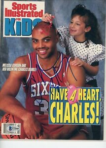 Charles Barkley No Label Sports Illustrated For Kids signed autographed BAS