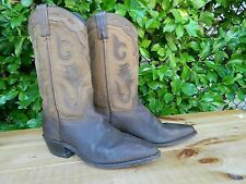 1990's Unknown Brand Western Boots / US Men sz: 9 1/2M / Used / Made in the USA