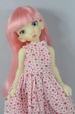 """PINK DOLL WIG SIZE 8/9"""" FITS VINTAGE AND MODERN DOLLS"""