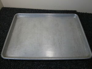 "Commercial Baking Sheet Pan Tray Aluminum Rectangle 12x18 13x18 by 1"" LOT OF 21"