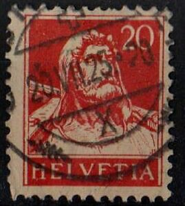 SWITZERLAND 1932 William Tell /Mi:CH 206z/ 20 ct STAMP