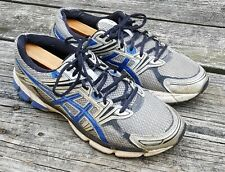 Asics GT-1000 Men's T2L1N Silver/Blue Lace-Up Athletic Running Shoes Size 10.5