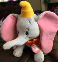 "DISNEY DUMBO Elephant Plush Soft 12"" Stuffed Animal Toy Kohl's Cares New w/tags"