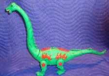 Egg Laying Jurassic World Walking Brachiosaurus Dinosaur T-REX Toy Lights Green