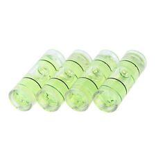 4 PCs Acrylic Tube Bubble Spirit Level Vial Measuring Instrument D 8mm L 22 A1Q3