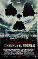 Chernobyl Diaries Cast Signed 11x17 Movie Poster Photo 5 x Autographs