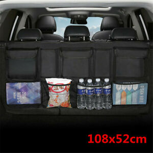 Car SUV Organizer Seat Back Portable Storage Bag High Capacity Multi-use Oxford