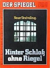 SPIEGEL 8/1971 Der Strafvollzug in Deutschland