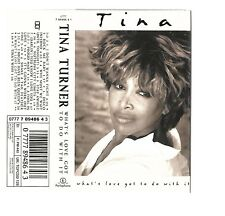 Tina Turner - What's Love Got To Do With It? (Cassette 1993). Near mint cond
