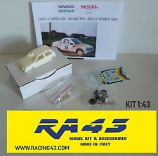 1/43 Opel Corsa GSI Rally Ypres 1991 Munster Kit