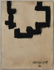 Ink drawing signed CHILLIDA