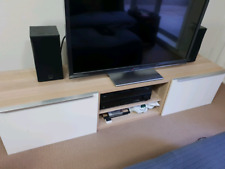 BESTA IKEA TV cabinet / unit valued at ~$300 EXCELLENT CONDITION