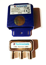 TECHNOMATE 2 Way Diseqc Switch TM-2S Satellite Dish Switcher LNB