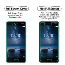 Paquete de 5 antirrasguños LCD Completo Protector de pantalla para Nokia 8