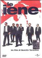 Le Iene DVD Quentin Tarantino White Cover Rarissima Universal