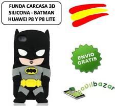 FUNDA CARCASA HUAWEI P8 Y P8 LITE BATMAN SILICONA 3D.ESPAÑA.MÁS EN TIENDA