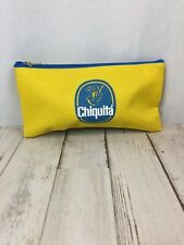 New! Chiquita Banana Cosmetic Makeup Bag Stationery Pencil Pen Case Zipper Pouch
