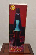 "VTG ORIGINAL RETRO LAVA LITE MOTION LAMP MIDNIGHT BLUE / CLEAR W BOX USA 16.3"""