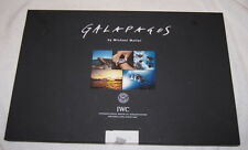 Galapagos by Michael Muller - 20 photographs 11x16 RARE - IWC watches