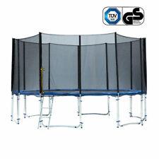 15/16FT Kids Children Junior Outdoor Trampoline Safety Net Pad Round -CLEARANCE