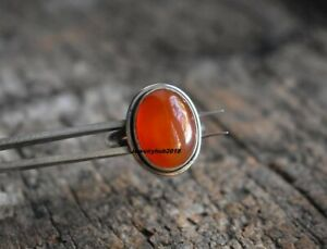 Carnelian Ring 925 Sterling Silver Band Ring Handmade Ring Jewelry A017