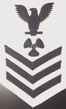 US NAVY : E6 RATE - BOATSWAIN 'S MATE WHITE PATCH