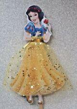 Snow White Disney Cake Topper  6.5 inches Hand Made Glitter & Gems 💖