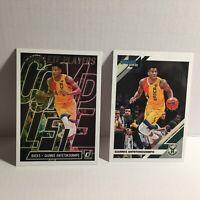 2019-20 NBA Donruss 2 x Milwaukee Bucks MVP Giannis Antetokounmpo Cards