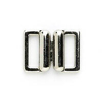 Metal Fast Clasp: 13mm: Silver