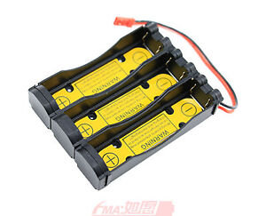 50x 1S3P Battery Holder Case Protect Li-Ion 3.7V 18650 get 3 times capacity