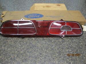 1970-1971 Mercury Montego NOS Tail lIght Lens Left Hand Brand New FoMoCo